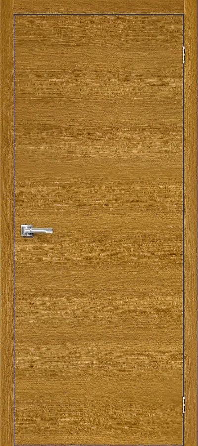 Дверь Браво Вуд Флэт-0V1 дуб натуральный H, глухая