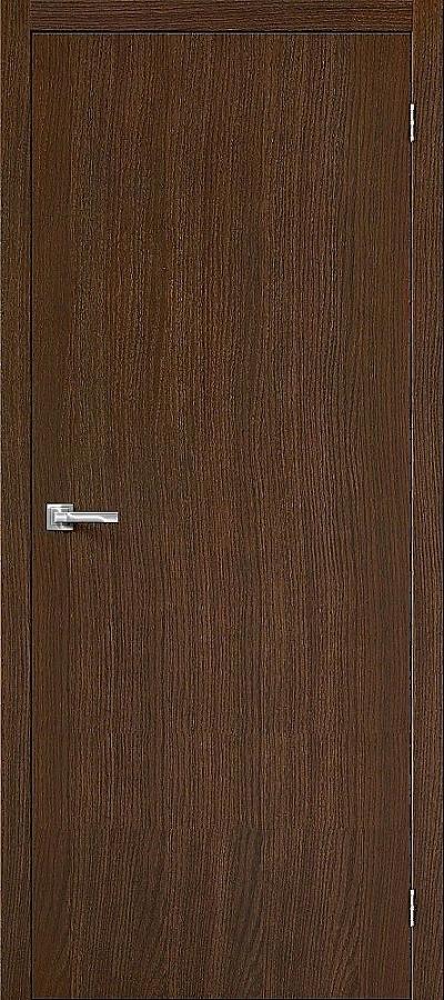 Дверь Браво Вуд Флэт-0V1 дуб золотой V, глухая