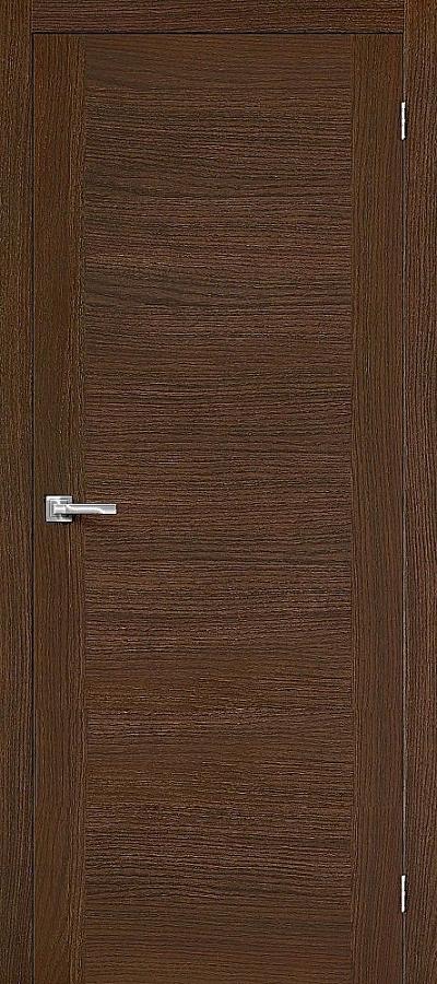 Дверь Браво Вуд Флэт-1V1 дуб золотой H, глухая