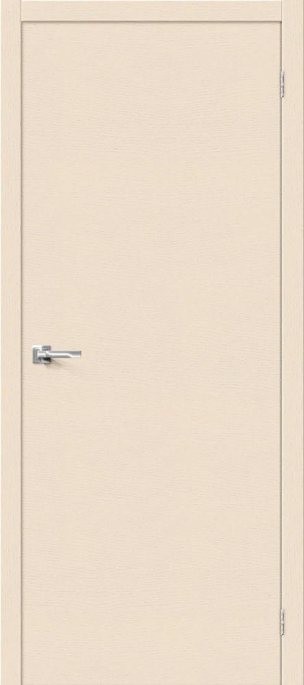 Дверь Браво Вуд Флэт-0V1 слоновая кость H, глухая